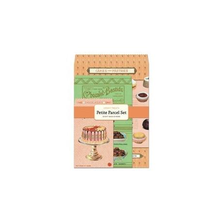 set pochettes et petites cartes 'Sweet Treats'
