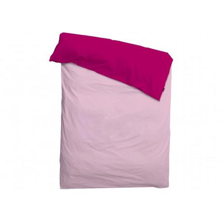 housse de couette imperméable 'Pink on pink' 1p (140x200)