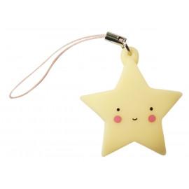 pendentif 'étoile jaune'