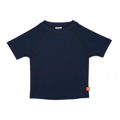 t-shirt de bain garçon à manches courtes anti-UV 'Navy' (6-36 mois)