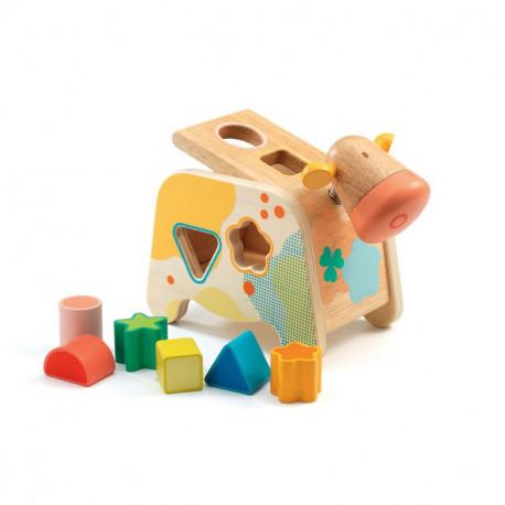 jeu en bois 'vache Maggy'